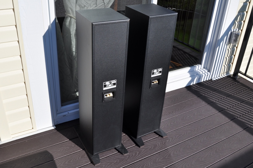 $199 set of two 200w ns-a100xt yamaha natural sound tower floor